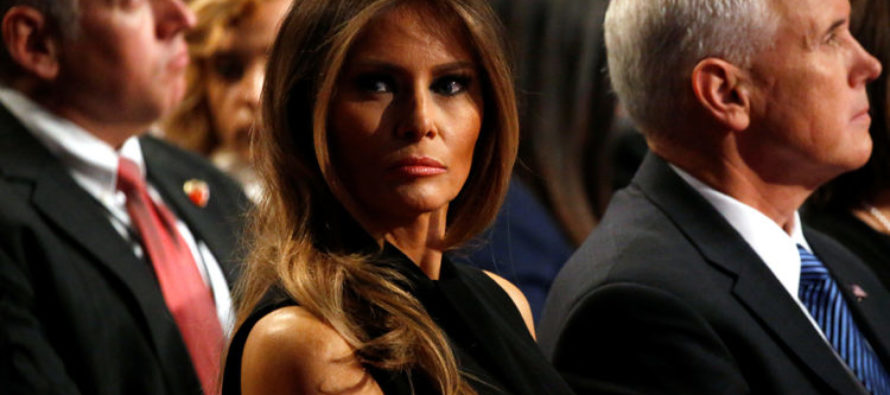 """HAH! Remember the blogger who called Melania a """"high-end escort?"""""""