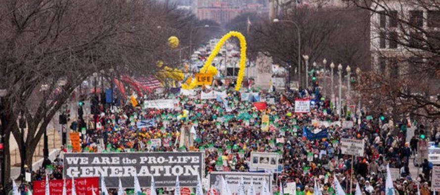 Hear the Speech given at the March for Life that Brought the Crowd to Tears [VIDEO]