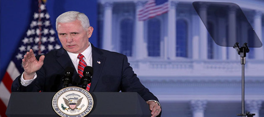 Mike Pence plans extraordinary gesture to force Liberal Media to STOP ignoring March For Life