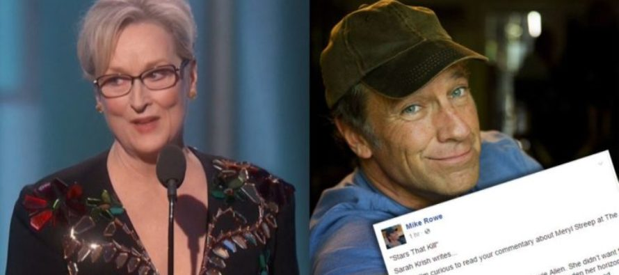 Mike Rowe BURNS Meryl Streep After She Trashes Trump