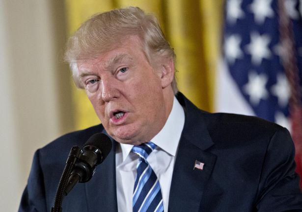 President-Trump-Swears-In-Senior-Staff-At-White-House
