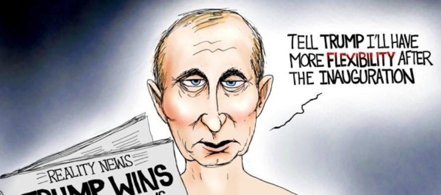 Biding His Time (Cartoon)