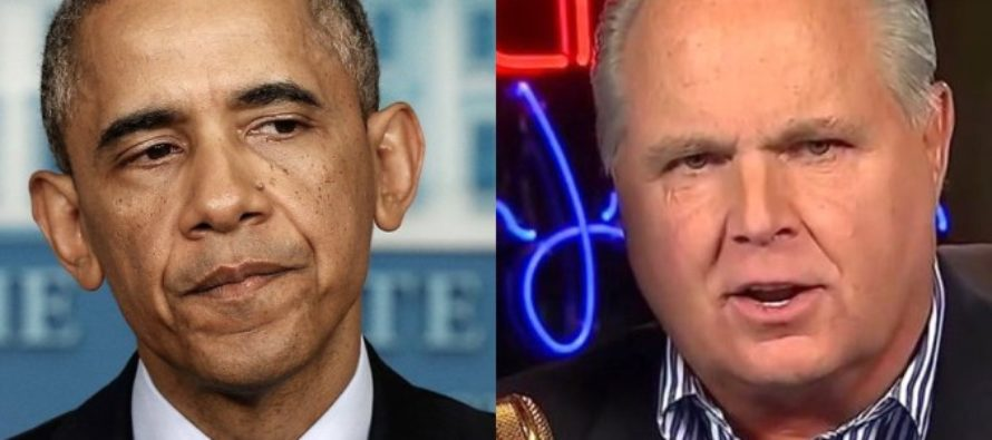 Rush Exposes What Obama Did Every Day During His Presidency – Breaks New Record