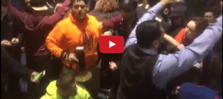 Trump Supporters VICIOUSLY ATTACKED in Portland, Oregon [VIDEO]