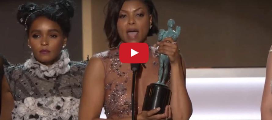 Black Actress Gives JAW DROPPING Speech at SAG Awards – You'll Cheer! [VIDEO]