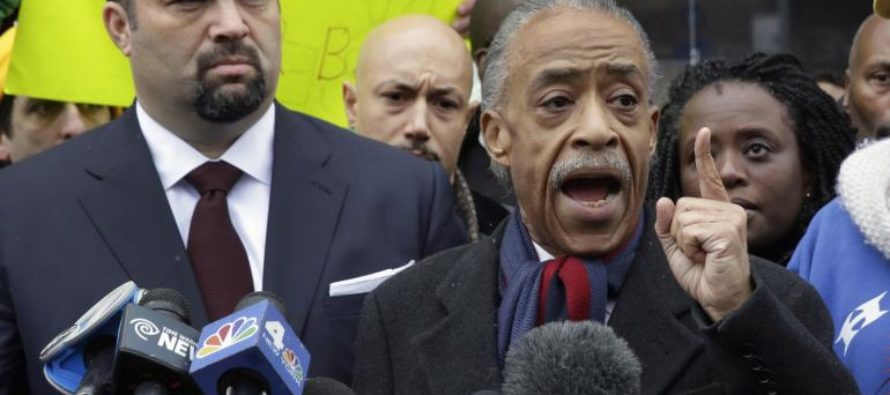 'We will not be Trumped': Sharpton Starts Up ANOTHER Protest Over Sessions… [VIDEO]
