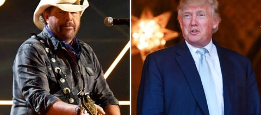 Toby Keith Puts A Boot Up Liberal Ass With This Trump Announcement [VIDEO]