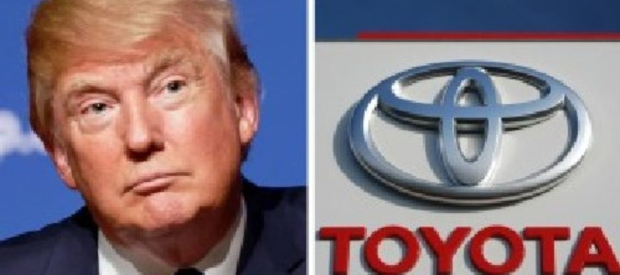 WHOA! Toyota Stock Gets HIT HARD After What Trump Said About Japanese Automaker