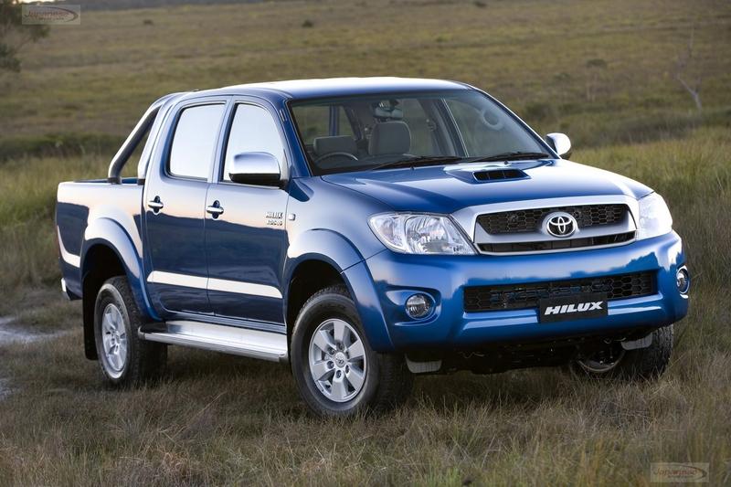 Toyota HiLux - Oct 2008 upgrade (Model shown: SR5 4X4 dual-cab turbo-diesel)