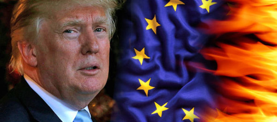 Trump Is Looking To Make European Union History With His New Administration! [VIDEO]