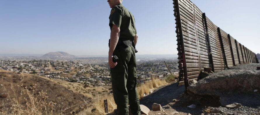 Border Agents And ICE Cheer President Trump And His Actions On The Border