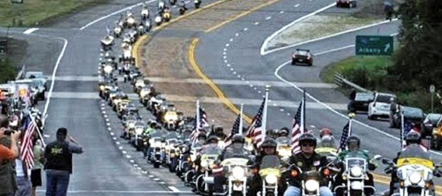 Bikers to build WALL OF MEAT to battle snowflake anti-Trump rioters