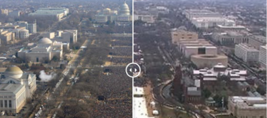 CNN Tricked Readers About Trump's Crowd Size, This HARD Evidence Reveals the TRUTH [VIDEO]