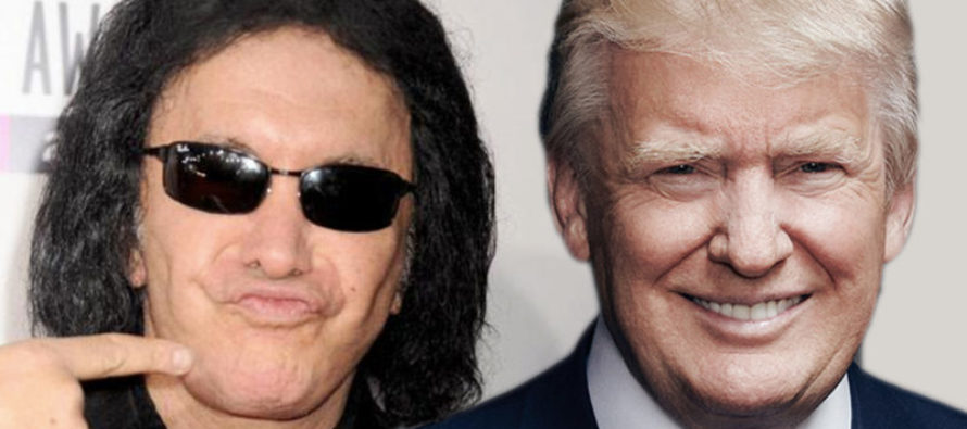 BOOM! Gene Simmons SLAMS Trump Haters – Gives Them The Perfect Advice! [VIDEO]
