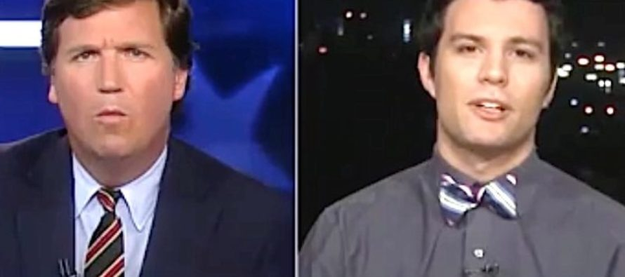 Tucker Carlson OBLITERATES Smug College Student Threatening Violence Because of Trump [VIDEO]
