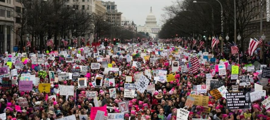 SLOBS: Million Woman March Trashes Cities Across The Nation