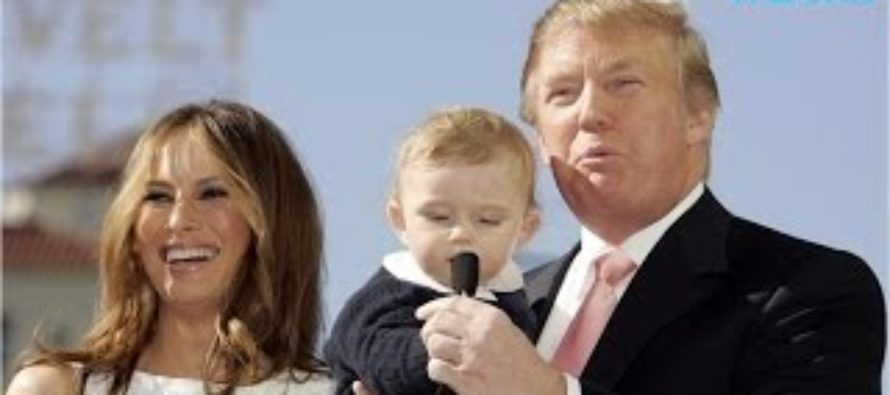 Hollywood Hits Out At Barron Trump AGAIN – This Time It's Even WORSE! [VIDEO]