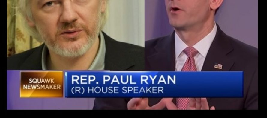 Paul Ryan Wins Elections, Shows His TRUE Colors – UNLEASHES On WikiLeaks