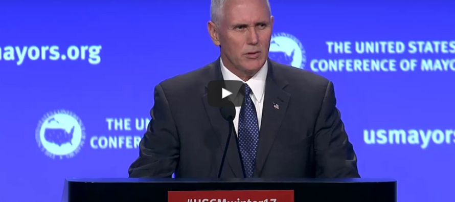 "Pence Informs City Mayors What's To Come: ""NO POLITICS, JUST RESULTS"" [VIDEO]"