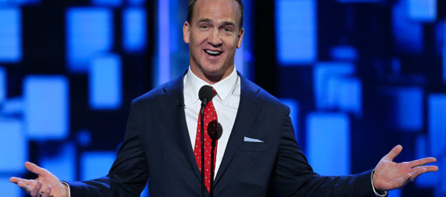 Trump Just TEAMED Up With Peyton Manning – For STUNNING Reason!