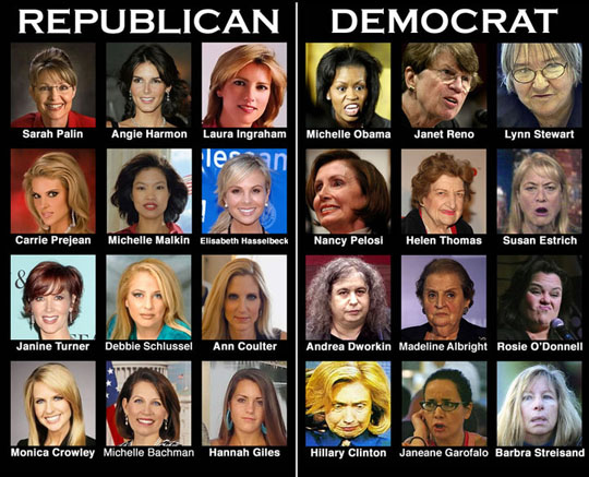 republican-vs-democrat-women