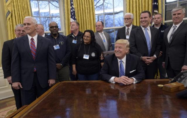 trump unions