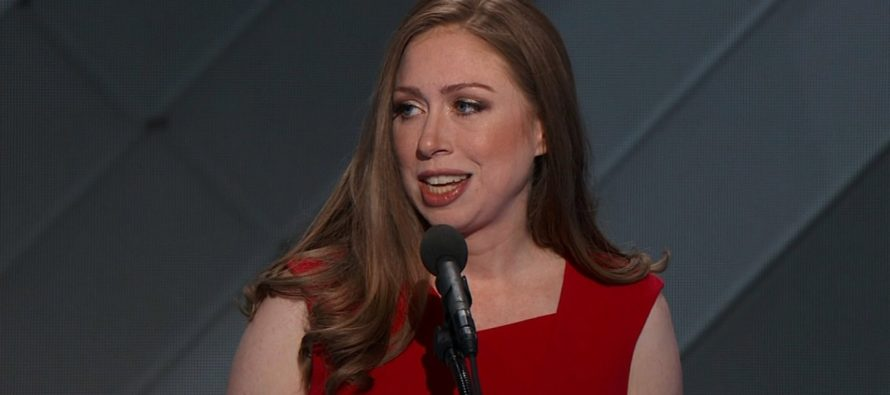 Chelsea Clinton triggered over hilarious picture of former President