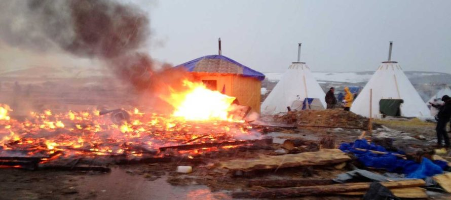 Dakota Access Pipeline Protesters Leave 'Sensitive Wildlife Habitat' Cluttered And Ruined
