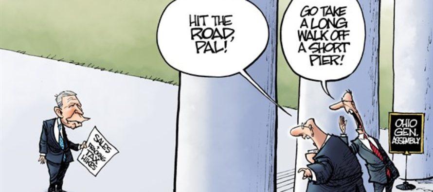 LOCAL OH Kasich Budget (Cartoon)