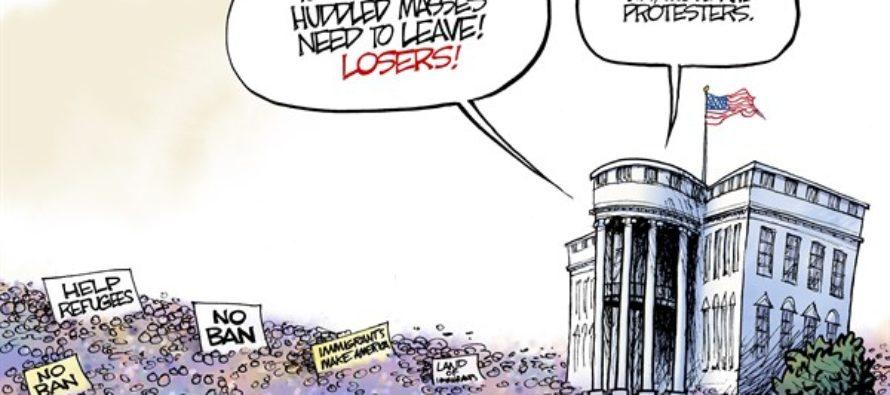 Huddled Masses (Cartoon)