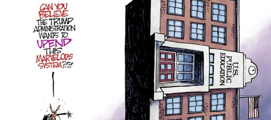 Sideways Schools (Cartoon)