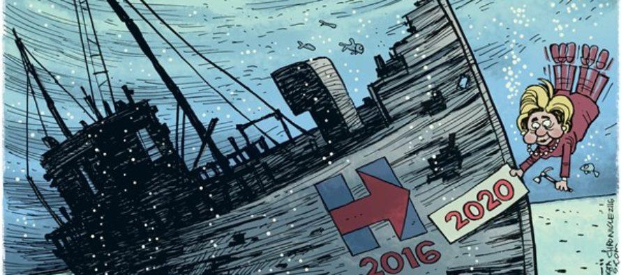 Hillary in 2020 (Cartoon)