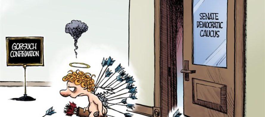 Cupid at Congress (Cartoon)