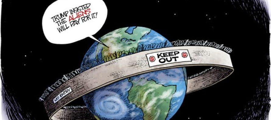 Planetary Wall (Cartoon)
