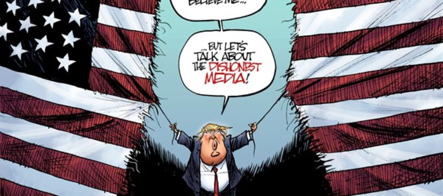 State of the Donald (Cartoon)