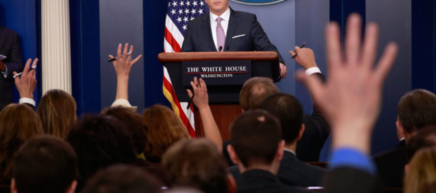 Spicer plays Kindergarten Teacher in Extended Smack-down of Rude NYT Reporter