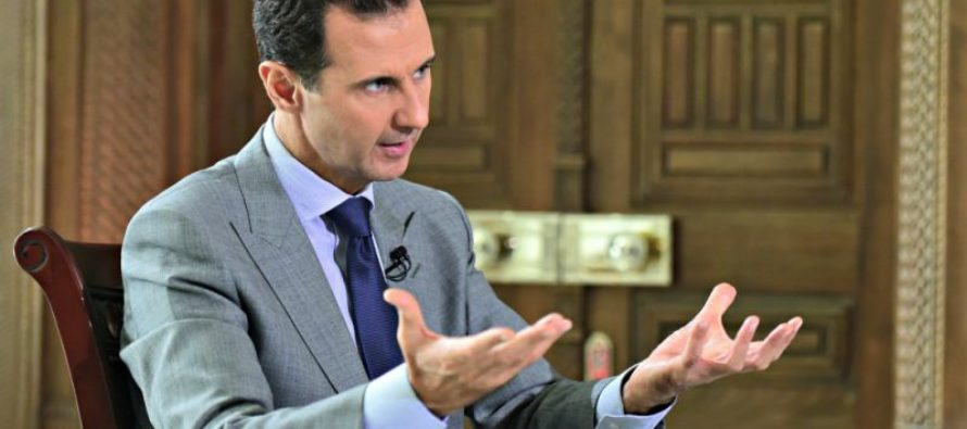BREAKING: Syria's Assad Now CONFIRMS – Some Refugees ARE Terrorists! [VIDEO]