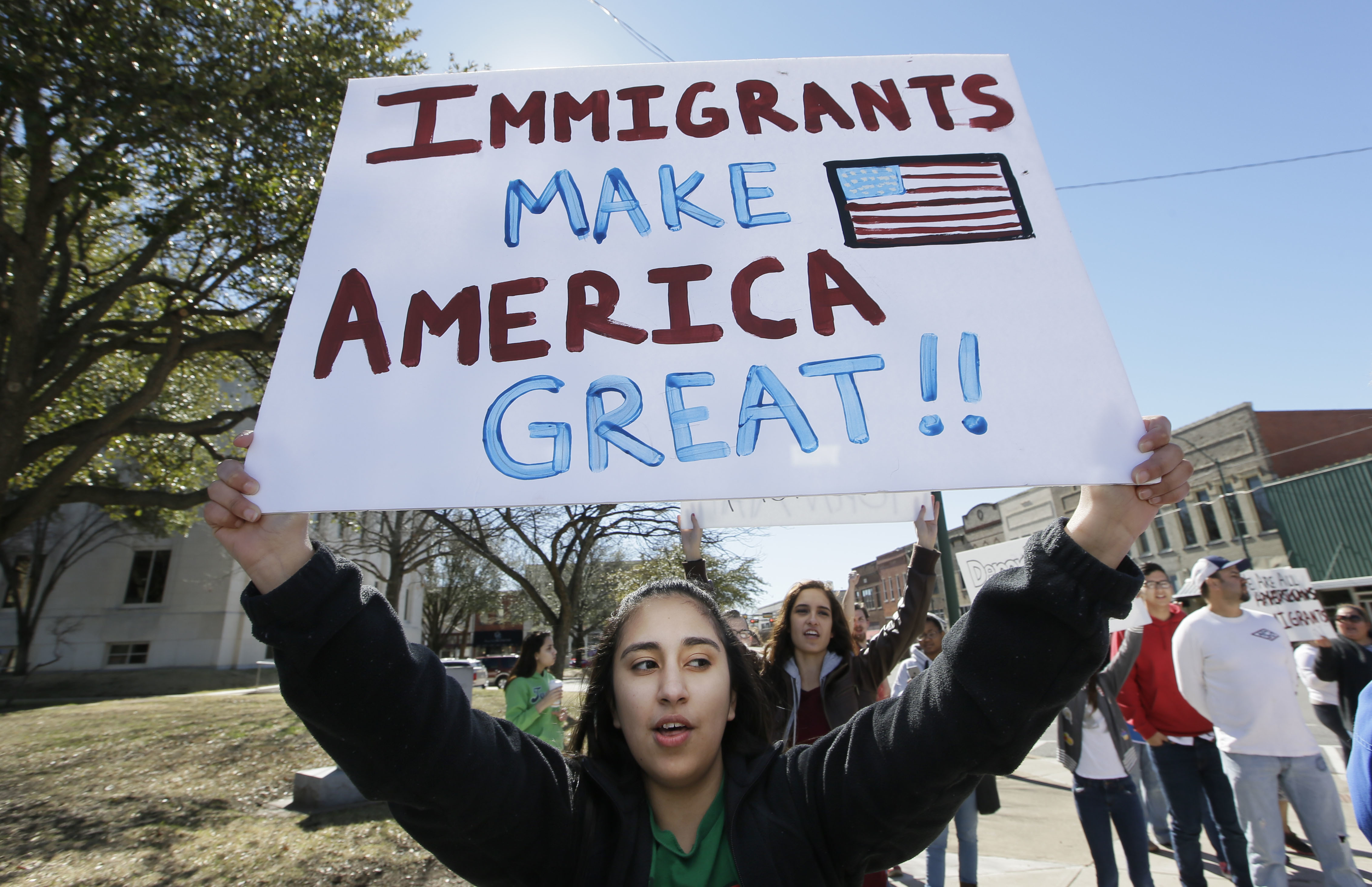 Day Without Immigrants Texas