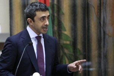 The United Arab Emirates' foreign minister, Sheikh Abdullah Bin Zayed Al Nahyan.Petros Karadjias/AP