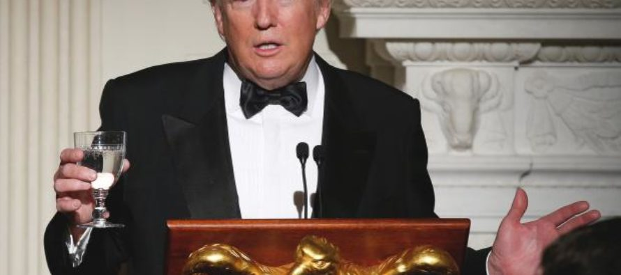 While Hollywood A-Listers Gave Themselves Trophies, Trump Was at Governors Ball Honoring REAL Heroes