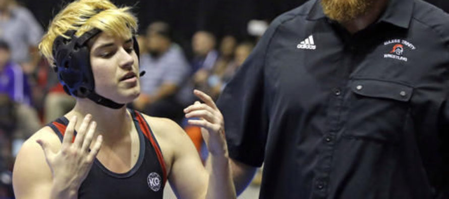 17-y/o Transgender Boy Competes for THIS State's GIRLS Wrestling Title