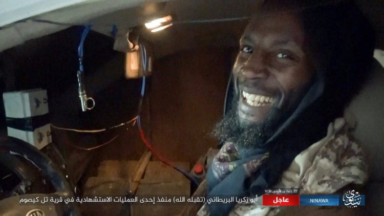 Ronald Fiddler was seen smiling in a video released by ISIS just before he detonated his vehicle in a suicide bombing in Mosul, Iraq.