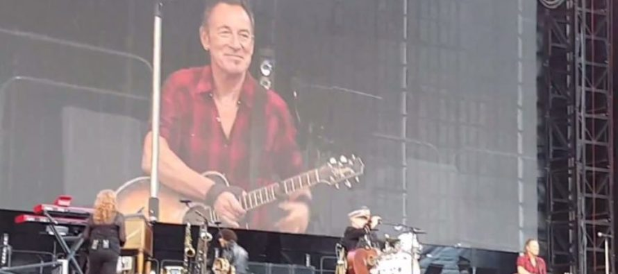 Bruce Springsteen Feels Safe INSULTING America… so long as he's in THIS country!