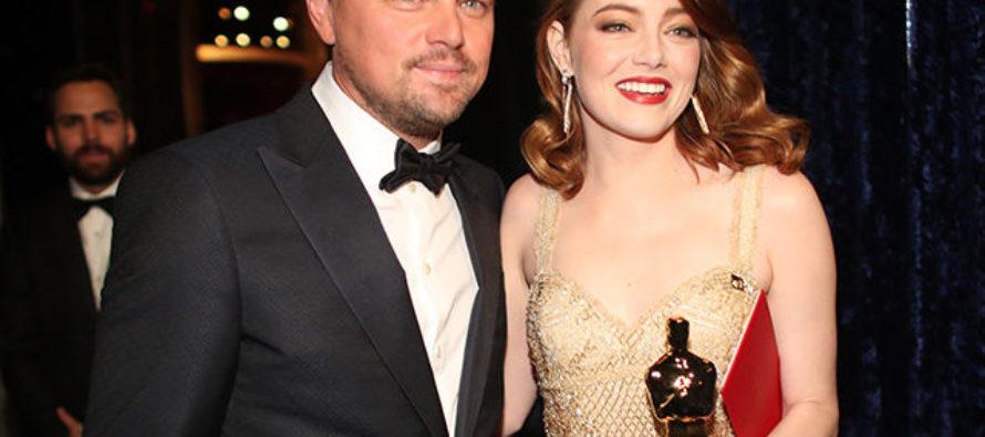 Global Warming Fanatic Leonardo DiCaprio Flew 'Eyebrow Artist' 7,500 Miles for Oscars