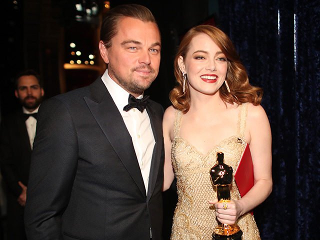 Global Warming Fanatic Leonardo DiCaprio Flew 'Eyebrow Artist' 7,500 Miles for Oscars