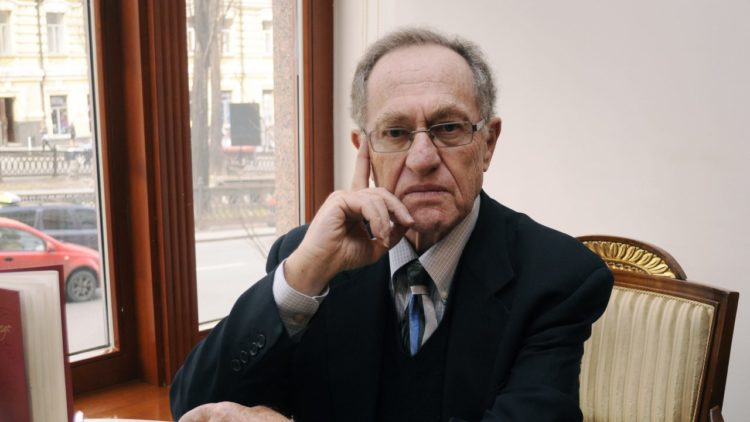 Alan Dershowitz, a professor at Harvard Law School