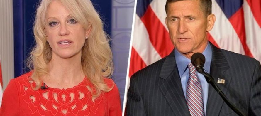 Just Hours After Michael Flynn Resigns, Kellyanne Conway Reveals THIS [VIDEO]