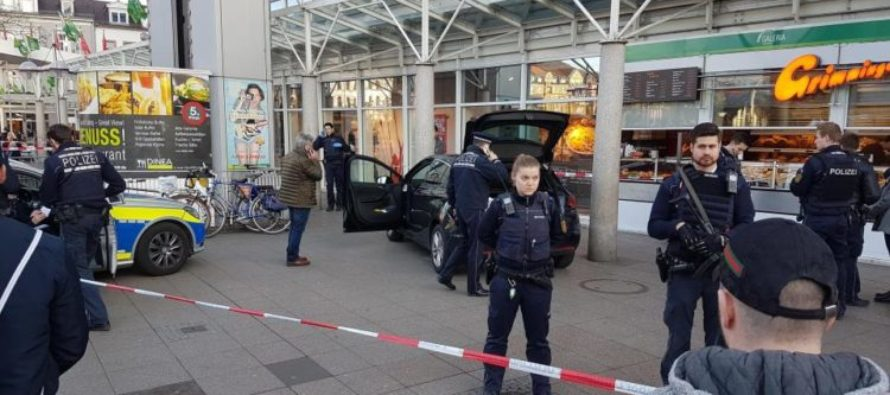 Please don't make us say why 3 Germans were injured at a market today [VIDEO]