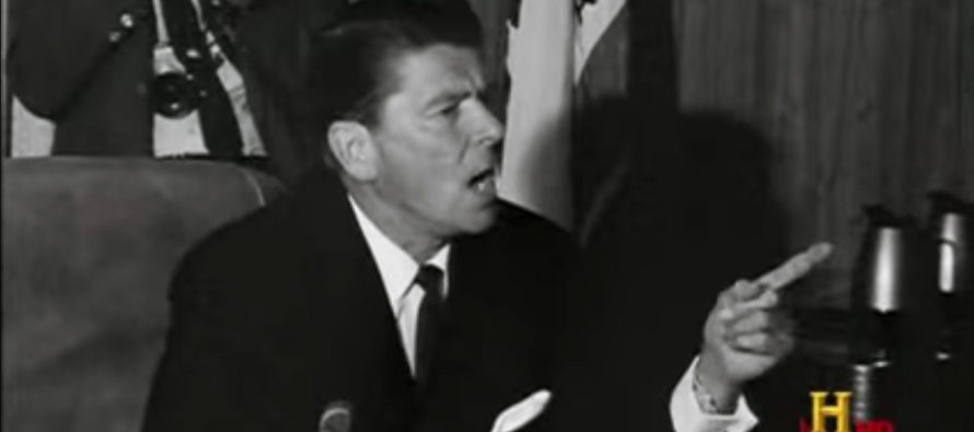 Ronald Reagan Showed the Right Way to Deal with Rioting Liberals at Berkeley [VIDEO]