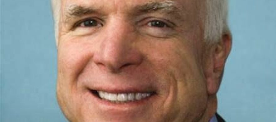 Disgraceful GOPer and Trump Hater Sen. John  McCain says Flynn resignation shows 'dysfunction' at the White House